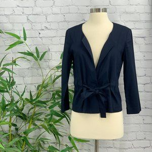 Theory Navy Blue Pant Suit